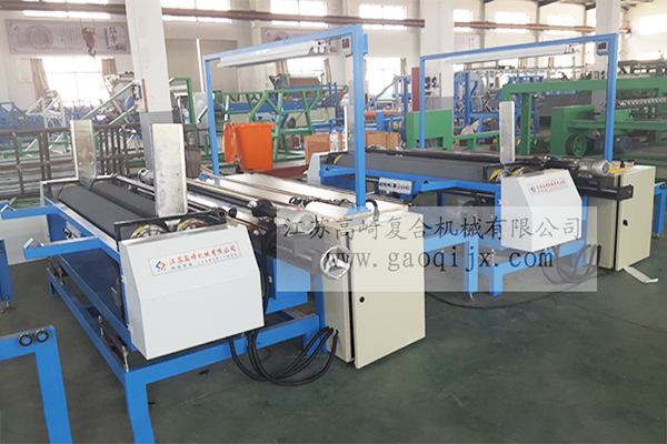 Flat cloth inspection  rolling machine
