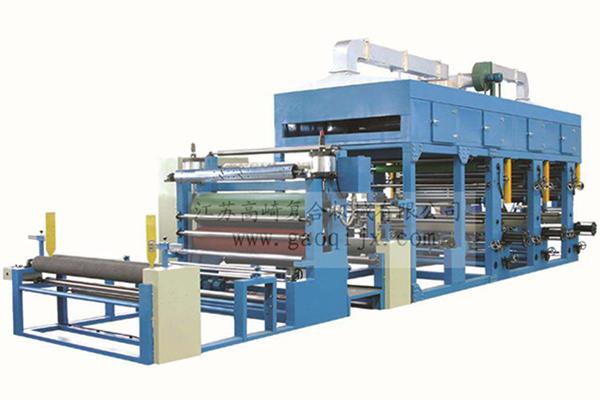 Three edition coating hot stamping machine
