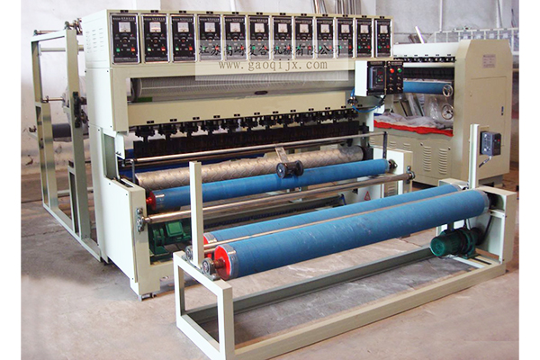 Ultrasonic embossing machine (air conditioner is dedicated to quilting)