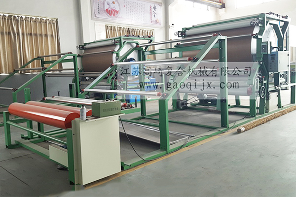Vertical mesh belt laminating machine (conventional)