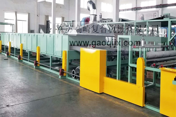 Non-slip cloth point molding machine