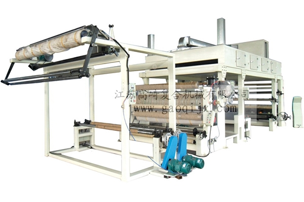 Hot stamping machine for wide width thermal transfer film coating