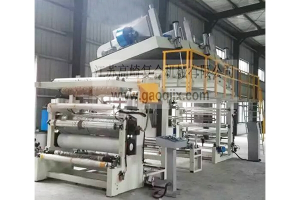 Sand release coating hot stamping machine