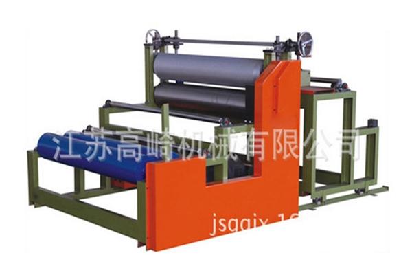 Hot melt cold stick compound machine