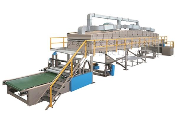 Self-adhesive laminating machine (bridge type can be rollable)