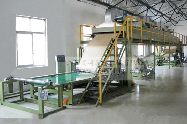 Self-adhesive coating compound machine