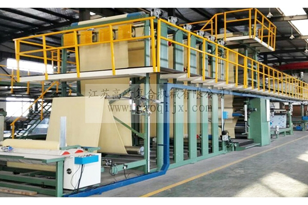High platform large flame laminating machine