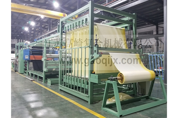 Three-in-one flame laminating machine for garment industry