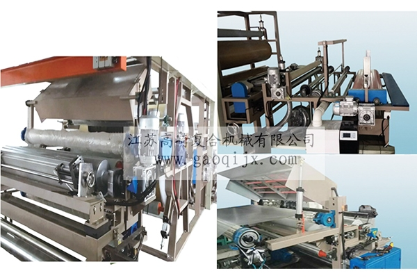 PUR hot melt adhesive laminating machine (modified)
