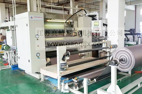 Home textile wall covering compound machine