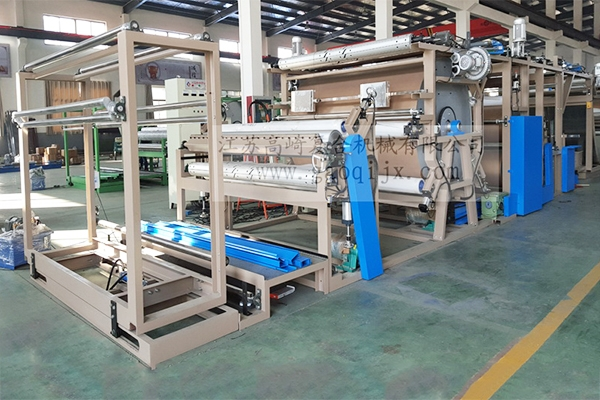 Glue transfer compound machine