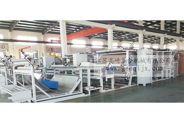 Super soft cloth special glue point transfer compound machine