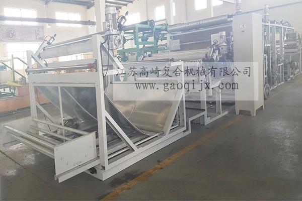 Compound machine for super soft cloth (energy saving)