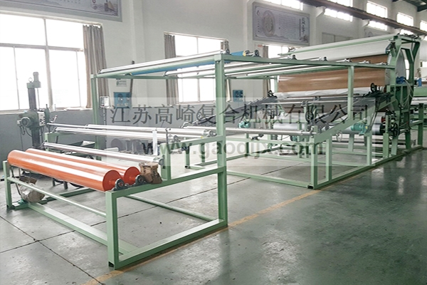 Needle Tenter Glue Mesh Belt Compound Machine