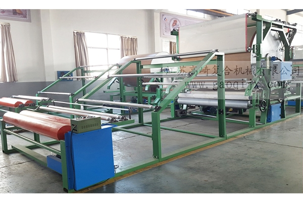 Vertical mesh belt compound machine (energy saving)